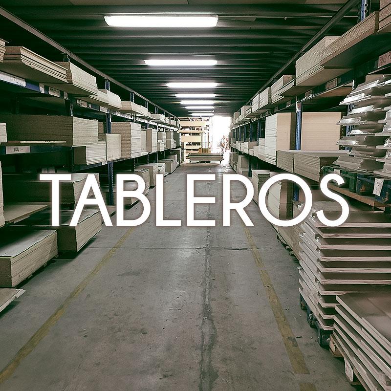 TABLEROS Y MELAMINAS